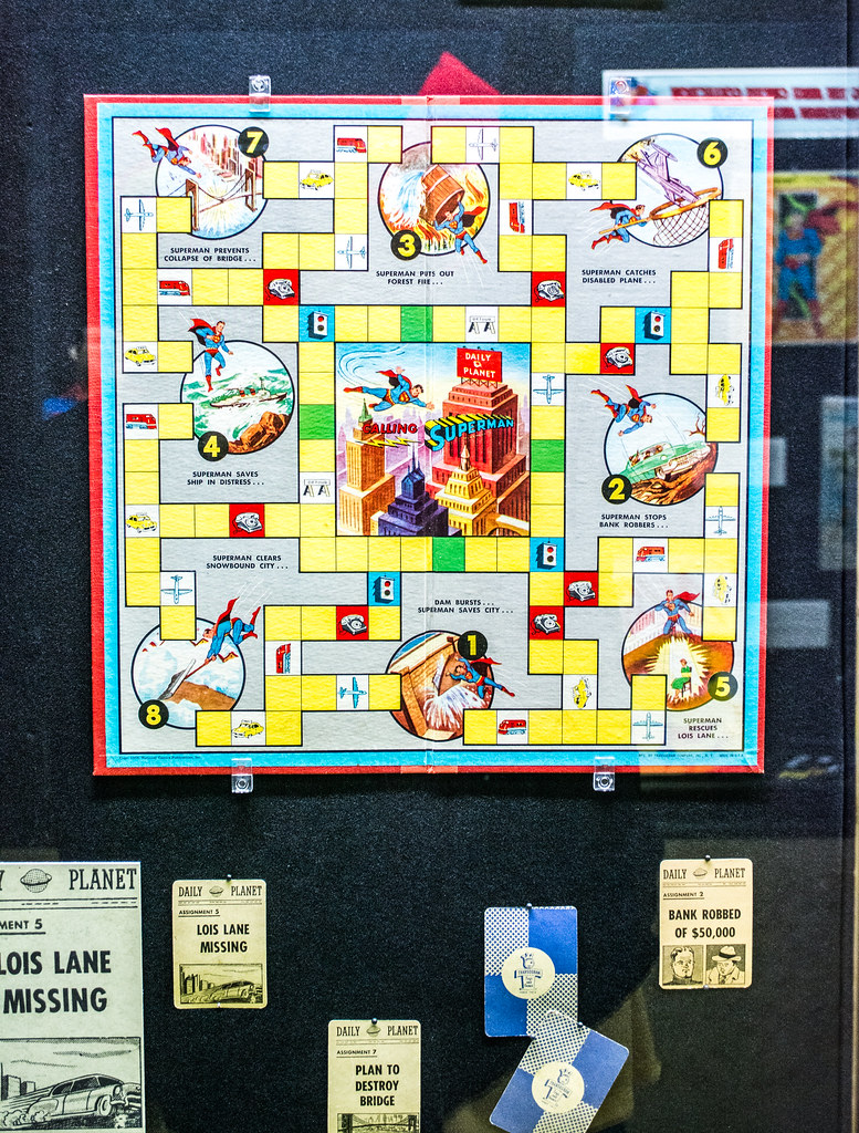 board game 06 - Superman - Cleveland Public Library