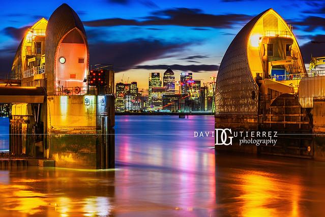 Thames Barrier (III), London, UK
