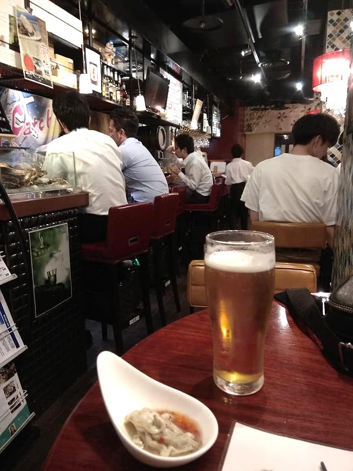 Oyster bar Sendai Japan