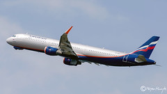 Aeroflot - Russian Airlines Airbus A321-211(WL) VP-BFF 7645 Juni 2018