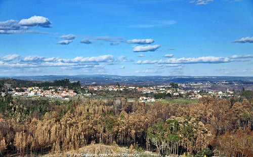 Paisagem a partir do Santuário de Nossa Senhora da Esperança - Vila Nova da Rainha - Portugal 🇵🇹