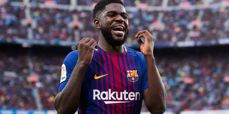Umtiti kembali berlatih di Barcelona