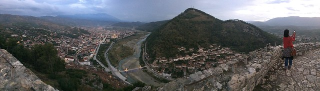 Berat Castle Panorama 03