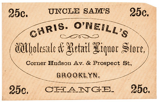 Uncle Sam's Change Postage Stamp Envelope front