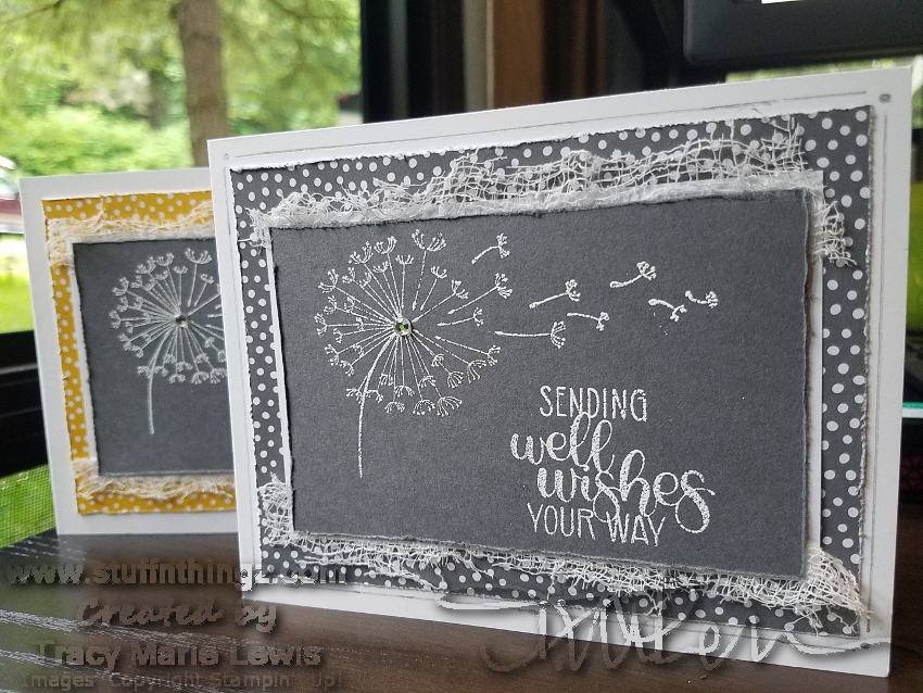 Dandelion Wishes Get Well Card | Tracy Marie Lewis | www.stuffnthingz.com