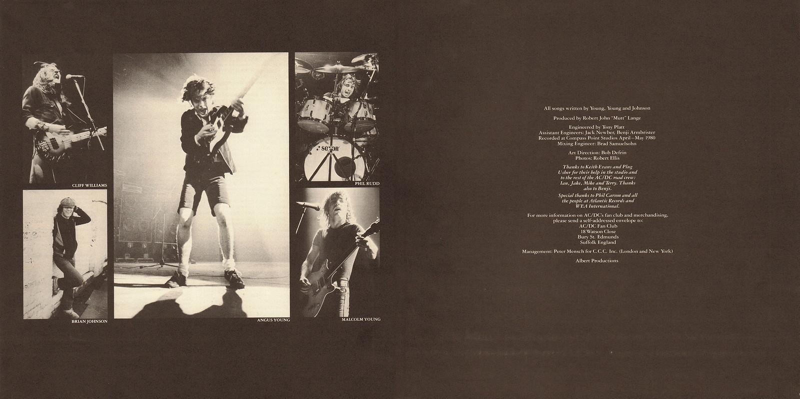 AC DC – Back In Black