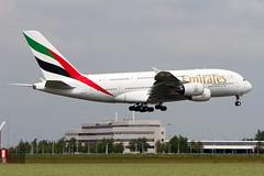 A6-EEBAirbus A380-861 Emirates
