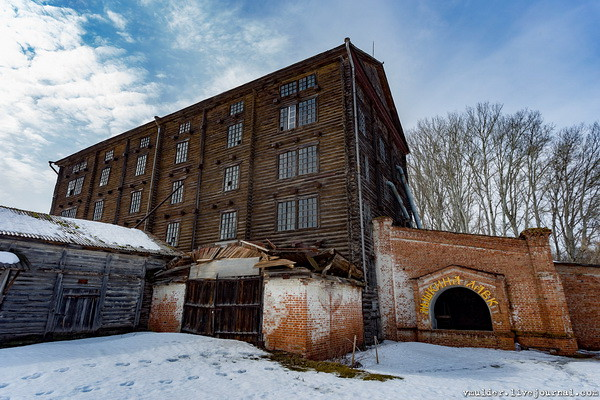 Старая Баркова мельница уже не крутится и не вертится