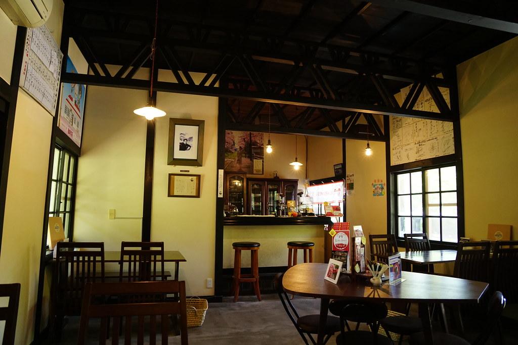 駅舎カフェ