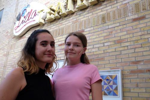 Johanna Pettersson och Sofia Pilspetz