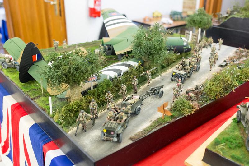 Diorama planeur anglais D-DAY