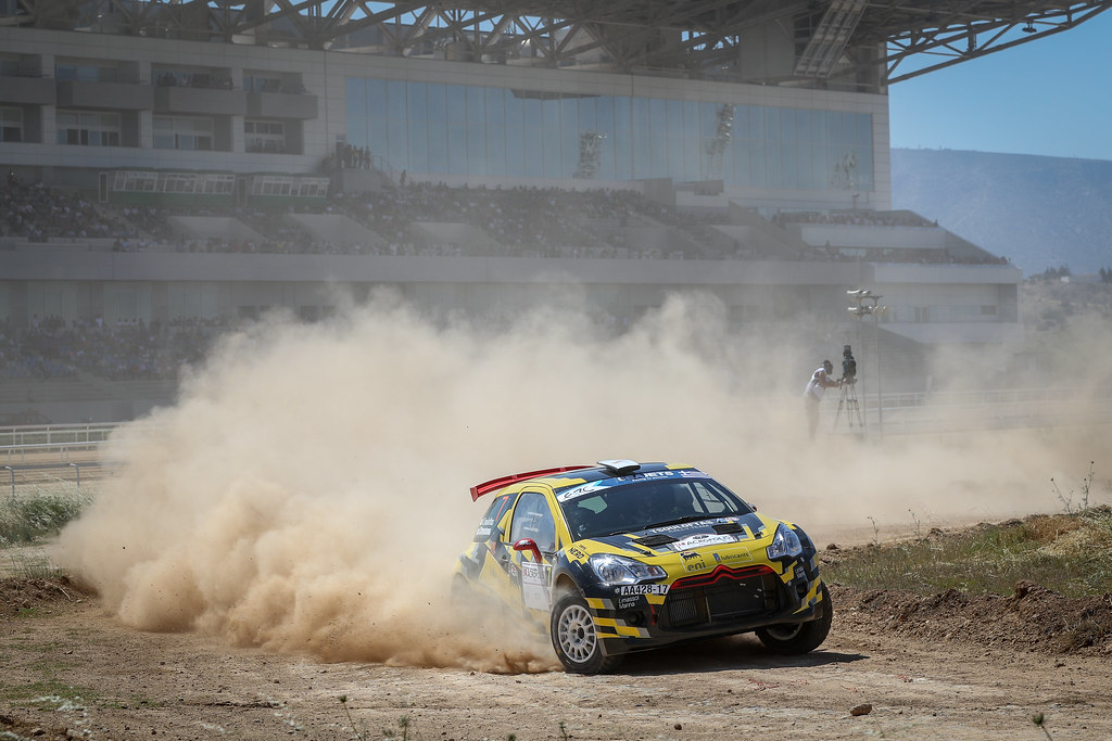 07 TSOULOFTAS Alexandros  ( cyp),  CHRYSOTOMOU  A    (cyp),  Citroen DS3 R5, action during the European Rally Championship 2018 - Acropolis Rally Of Grece, June 1 to 3 at Lamia - Photo Alexandre Guillaumot / DPPI