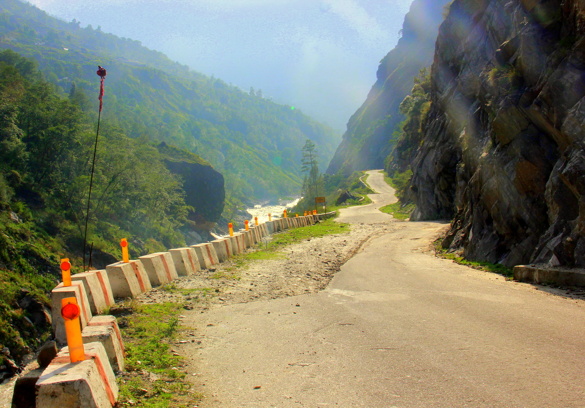 The road got narrower as we headed towards Govindghat from Joshimath