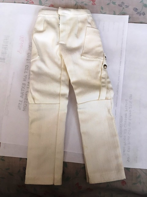 White cargo pants for SD girls - 10