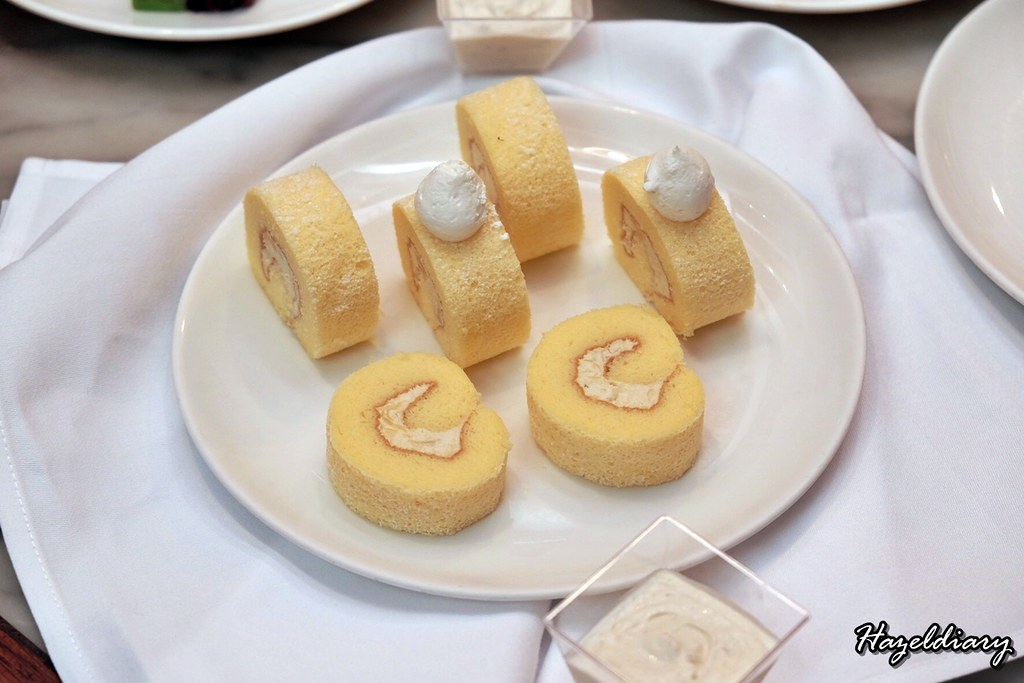 Decadent Durian High Tea Buffet-Marriott-Swiss Roll