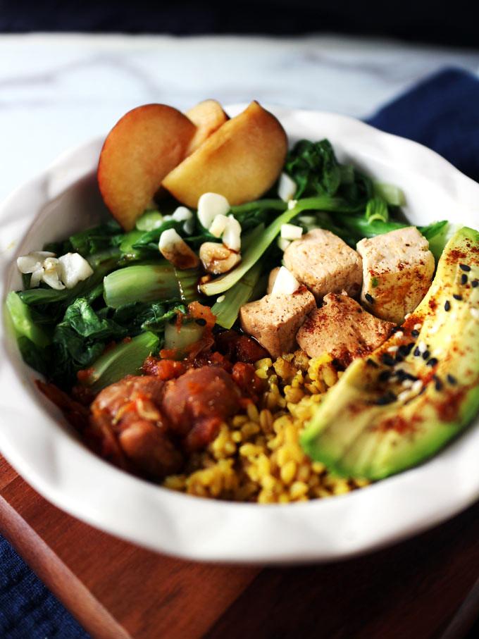 簡易素食羅漢齋 vegan-easy-buddha-bowl (5)