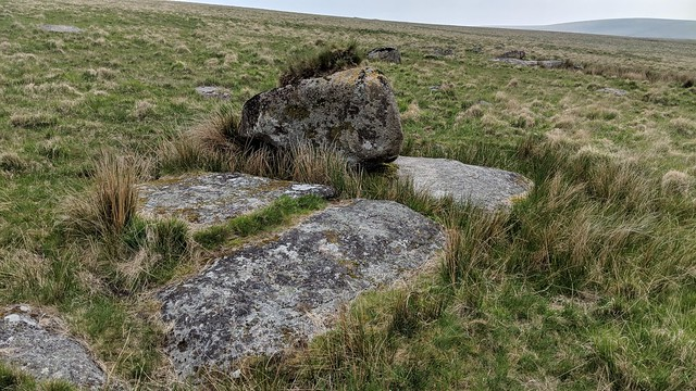 Strane Tor west outcrop.