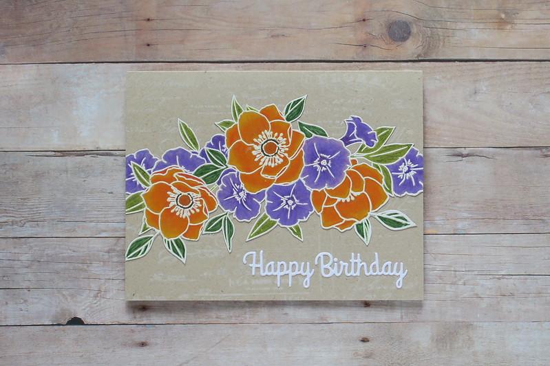 Bouquet Birthday - County Fair Entry