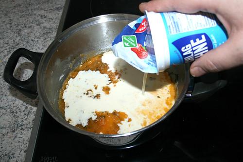 29 - Mit Sahne ablöschen / Deglaze with heavy cream