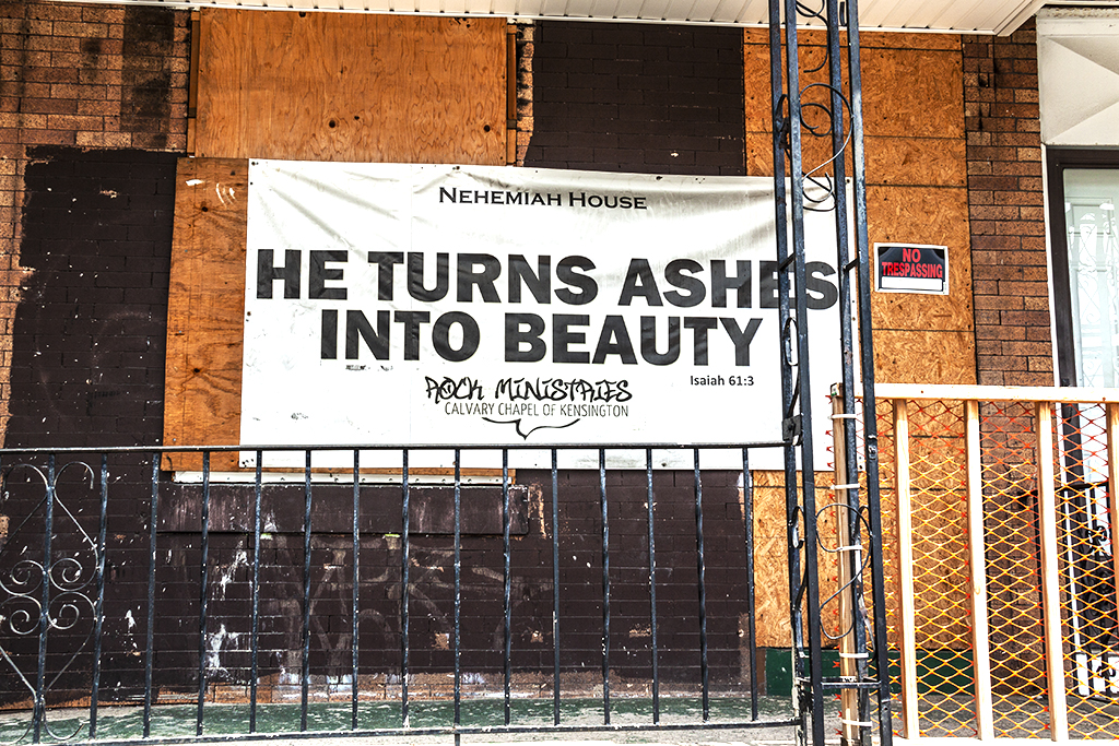 HE TURNS ASHES INTO BEAUTY--Kensington