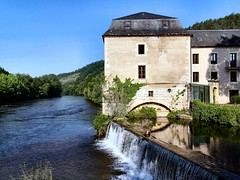 Old mill in Le Bugue