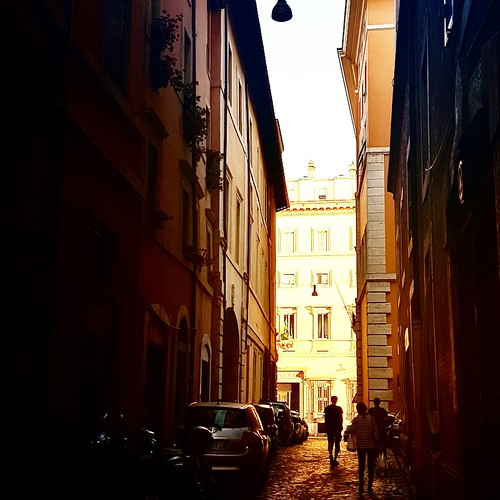 Roma: vicoli del centro storico