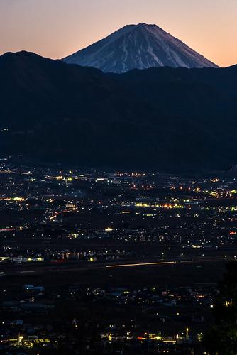 Mt. Fuji and Kofu Valley (2)