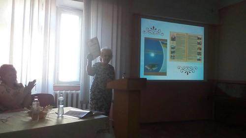 Звіт директора ЗОШ №56 Мазур О.М. перед педагогічним колективом і громадськістю