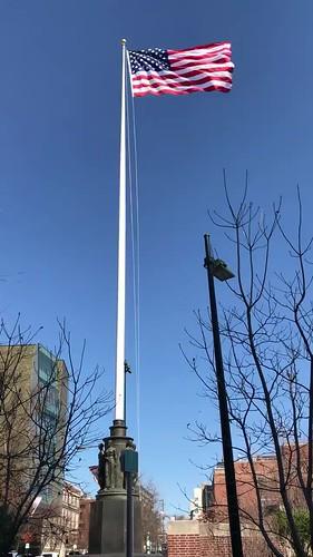 War Memorial Flagpole