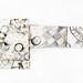 Mohitotsu no koen (2018) Hand painted Cotton-Linen obi  5455x350mm by mayakonakamura