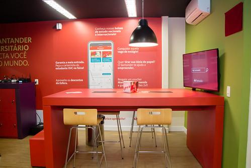 Inauguração nova agência Santander-Metodista com conceito coworking