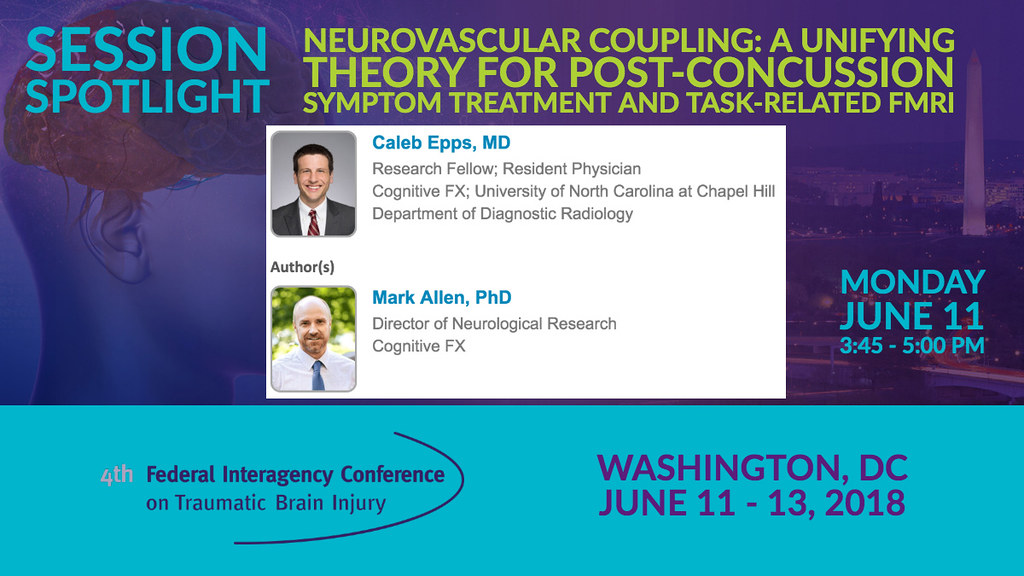FICTBI Session Spotlight: Neurovascular Coupling: A Unifyi