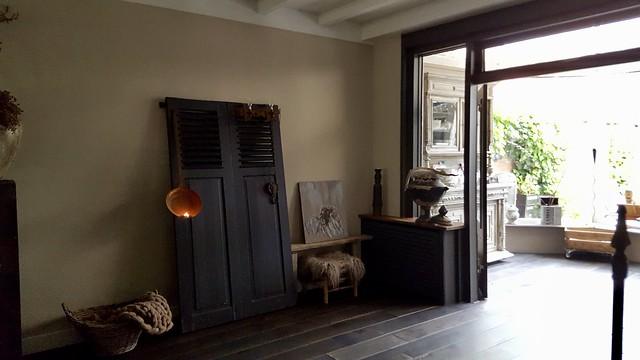 Houten deuren decoratie landelijke stijl