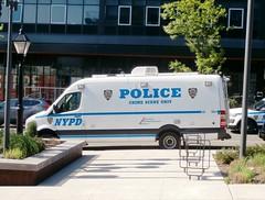 NYPD Crime Scene Unit Van