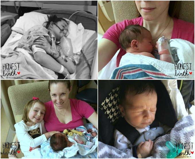 Mama Tiffany Huebner shares the hospital birth story of her son on the Honest Birth birth story series! Tiffany went into labor at 40 weeks, ended up getting induced, and had her son after ten hours of labor! After staying six days in the NICU, they went home!