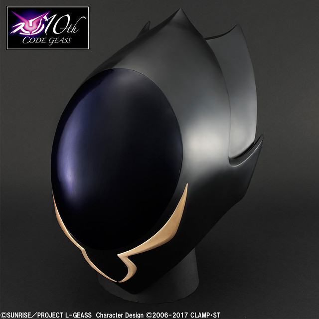 Full Scale Works《Code Geass 反叛的魯路修》「ZERO的面具」1/1比例 道具複製品「1/1scale ゼロの仮面」
