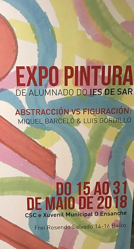 """"""" Abstración vs Figuración: """"Miguel Barceló-Luis Gordillo"""""""