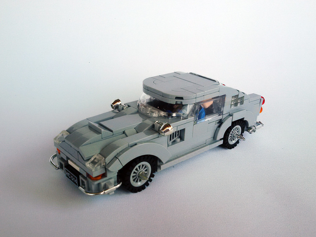Aston Martin Db5 Speed Champions Moc Movies Games Roguebricks Lego Community