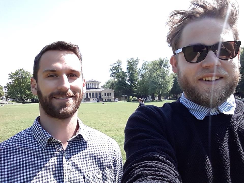 Justus Walbert et Andreas Gemählich
