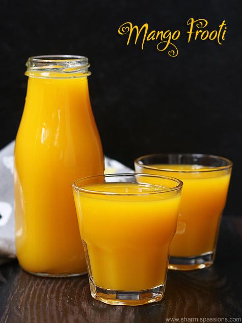 mango frooti recipe