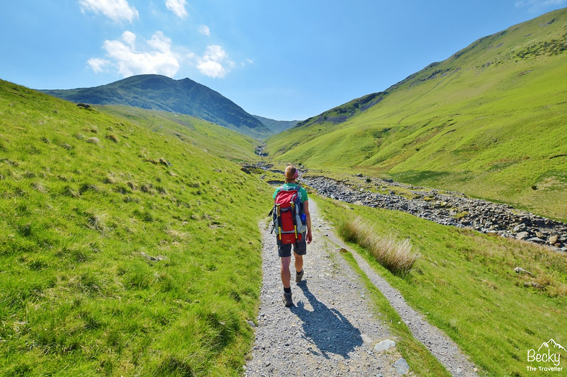 Glenridding to Hellvellyn - Lake District (4)