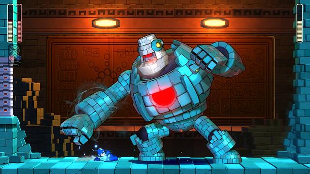 Mega Man 11 Screens & Artworks