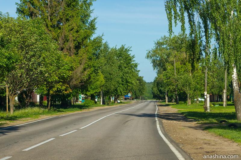 Здесь проходил торговый путь из Суздаля в Городец