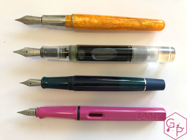 @Pineider Avatar Saffron Fountain Pen Review @GoldspotPens 27