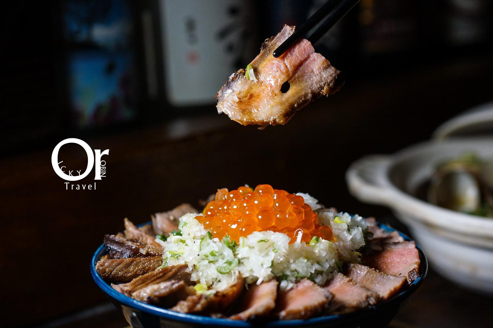 忠孝復興美食|東區串燒居酒屋、北海道木槳送餐、超狂炭火厚切牛舌丼不點會捶心|一氣爐端燒