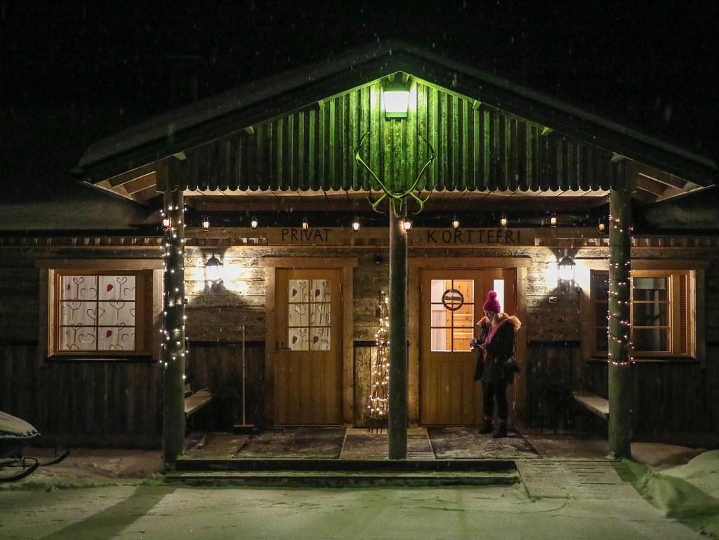 Laponia en invierno
