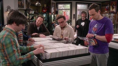 Big Bang Theory, The Comet Polarization, with Neil Gaiman