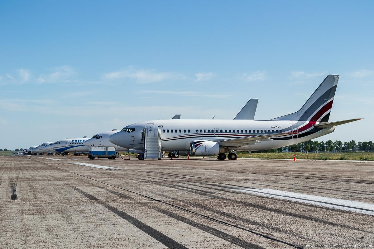 ChampionSpotting KBP: Самолеты на полосе