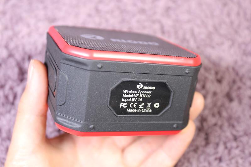 Riodo 防水 Bluetooth スピーカー 開封レビュー (19)