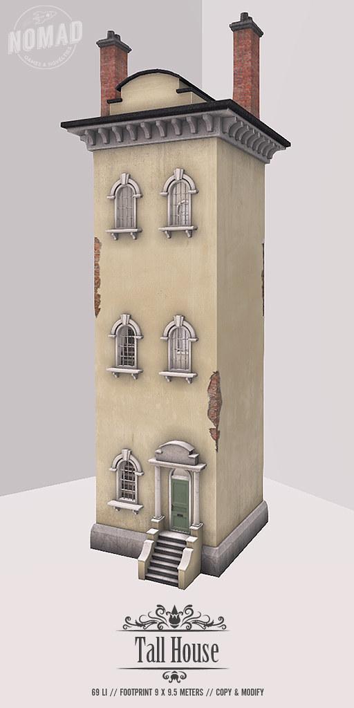 NOMAD // FLF Tall House - TeleportHub.com Live!